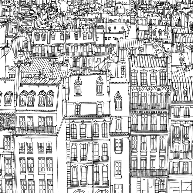 Grab Your Markers, It's The Coolest Adult Coloring Book Yet