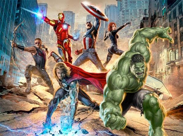 The Avengers Concept Art
