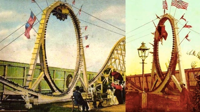 The world's first looping roller coasters were basically torture devices