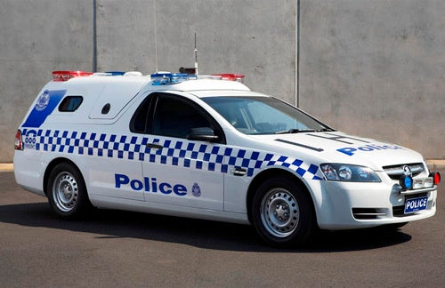 Victoria Police Divisional Van Kicks Dirt In Our Camino-Less Faces