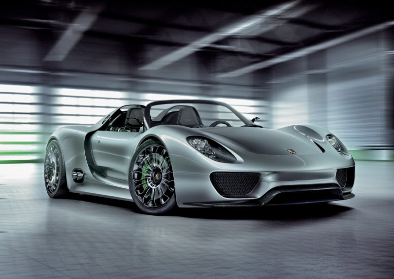 Porsche 918 Spyder Hybrid: 500 HP, 78 MPG... Yeah, Right