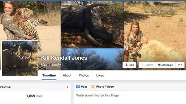 Facebook Shuts Down Page Calling for Lion-Hunting Cheerleader's Murder