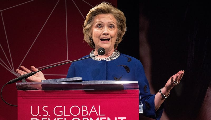 Hillary Clinton Finally Admits She's Thinking of Running for President