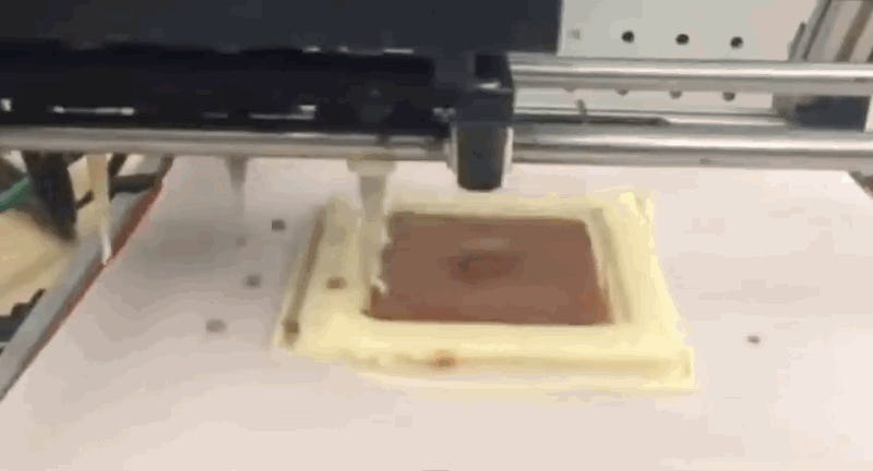 But how does it taste? Watch NASA's 3D pizza printer in action