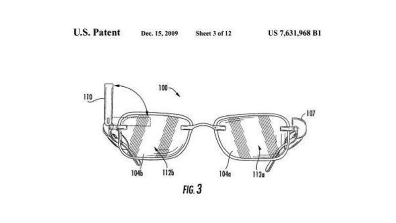Google's Glasses Patents Hint at Helmets to Match the Specs