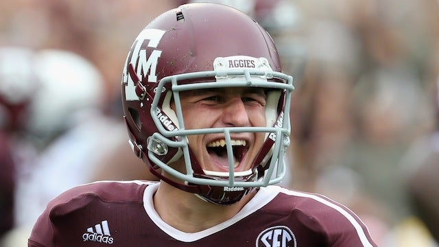 Texas A&M Finally Lets Johnny Football Talk