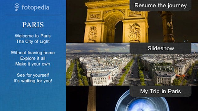 Fotopedia Paris for the iPad and iPhone Immerses You in the Gorgeous Capital of France