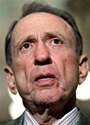Senator Specter Goes To The Dogs Donkeys