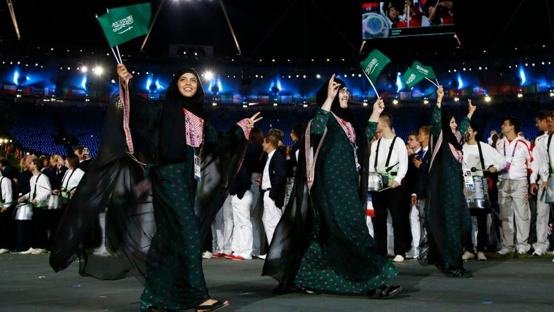 So How Much of An Impact Will Saudi's Female Olympians Have On Gender Equality? Apparently Not a Lot