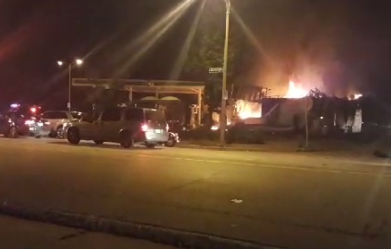 Cops and Protesters Clash in Milwaukee After Fatal Shooting by Police