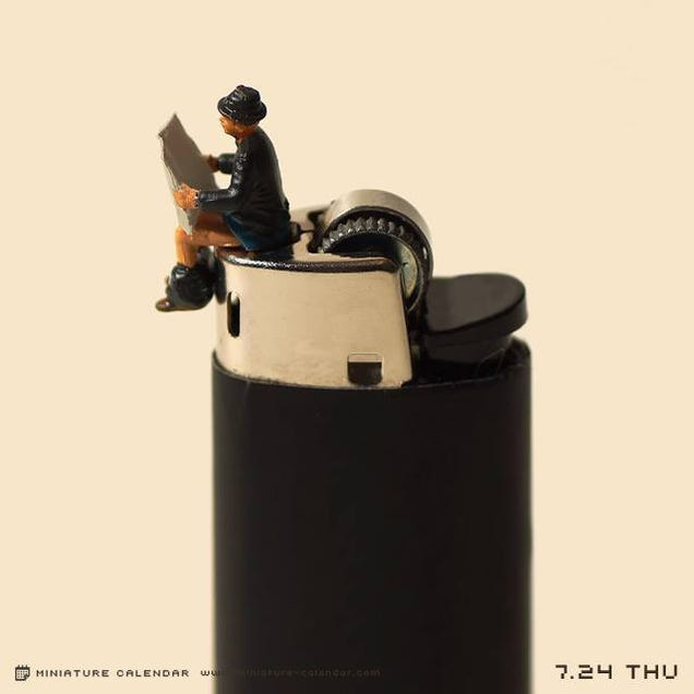 This Japanese Artist Creates a Different Diorama Every Day of the Year