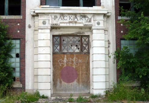 Packard Plant Facade To Hit The Auction Blocks