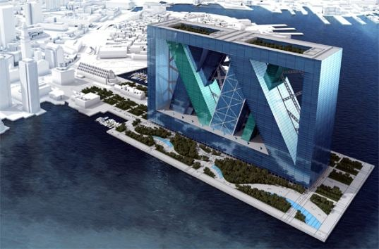 Forget Boston, Even Dubai Isn't Ready For the BoA Floating Mega-Structure