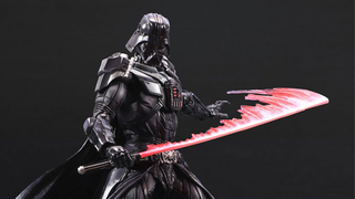 This Darth Vader Toy Comes With The Coolest Lightsaber Attachment
