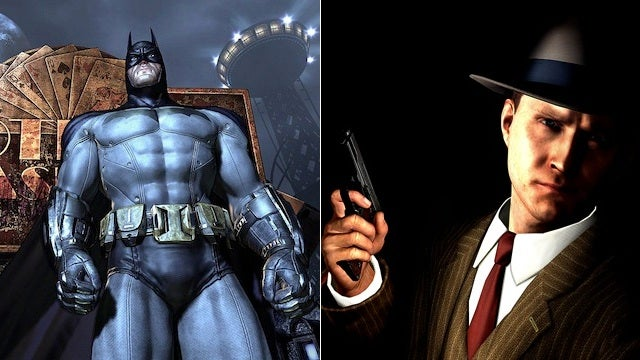 L.A. Noire and Batman: Arkham City Lead Nominations for British Video Game Awards