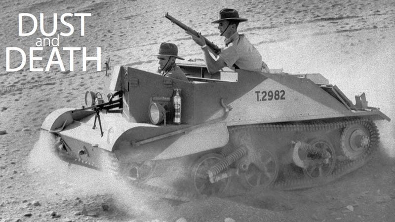 Tiny Tanks, Howitzers-On-Wheels and Other Deadly, Dusty Scenes from WW2's North African Front