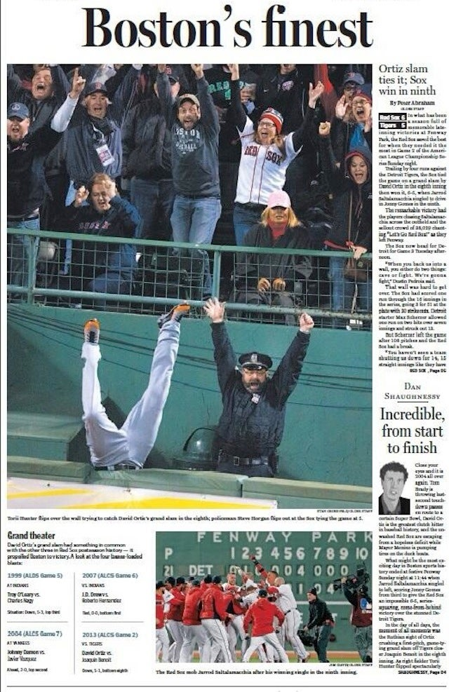 Meet The Boston Cop From The Sports Photo Of The Year