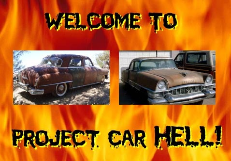 Project Car Hell: '50 DeSoto or '55 Packard?