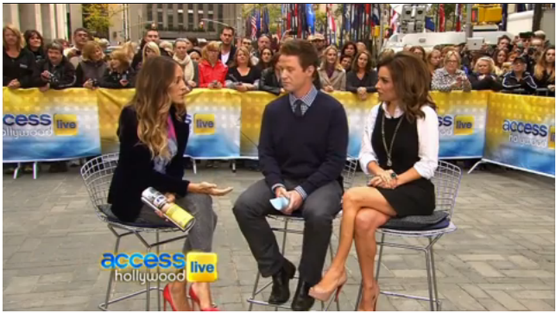 Sarah Jessica Parker Talks Over Dumbass Billy Bush, Stumps for Obama, Wins the Election For Our Hearts