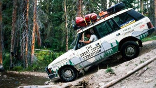Watch As Classic Range Rovers Conquer The Colorado Rockies In 1989