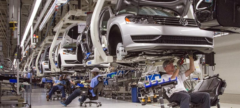 Breaking: UAW To Form New Union At Volkswagen's Tennessee Plant