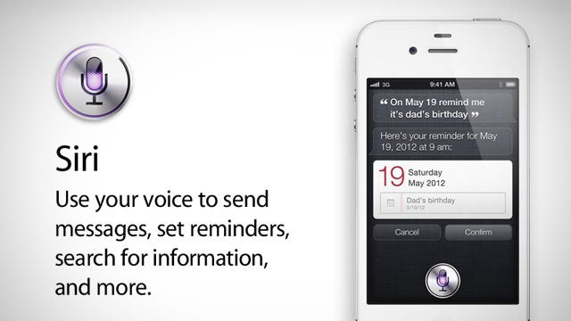 All About Siri, Your iPhone's New Assistant