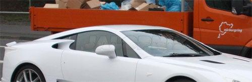Lexus LF-A: Clearest Look Yet!