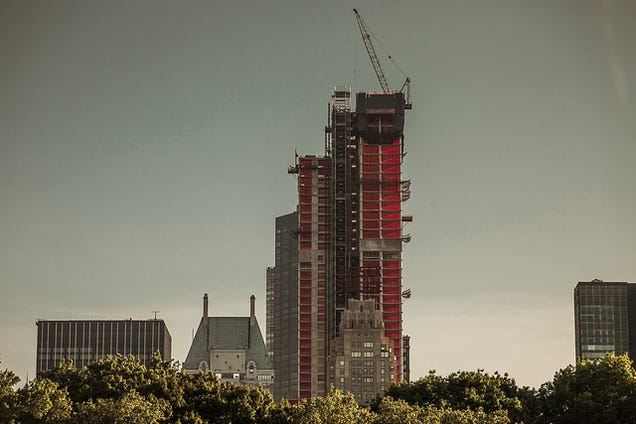 2014 Was a Record Year for Skyscrapers, and That Could Be Bad News