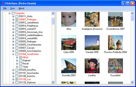 Sync Photos to Flickr with FlickrSync