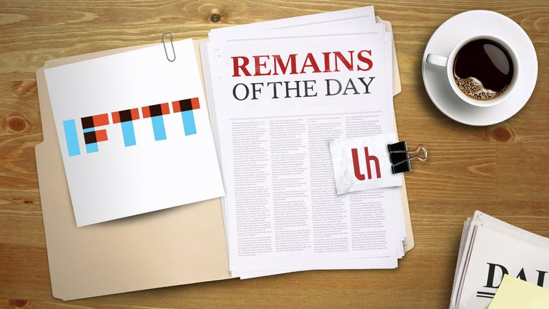 Remains of the Day: IFTTT Gets Some New Gmail Triggers