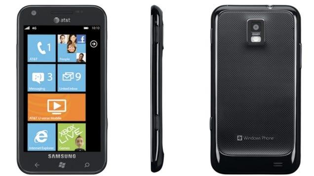 Samsung Focus S First Impressions: Big, Tasty Windows Phone