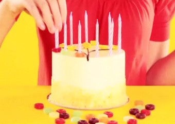 Use Lifesavers to Keep Candle Wax Off Cakes