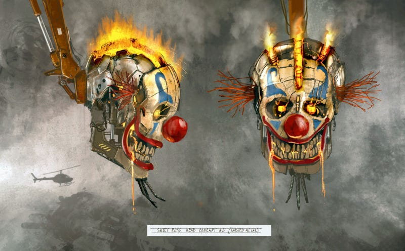The Sweet Art of the New Twisted Metal Game