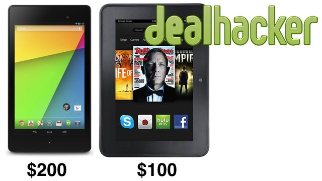 Nexus 7 & Kindle Fire HD, Logitech Harmony, GoPro Black [Deals]