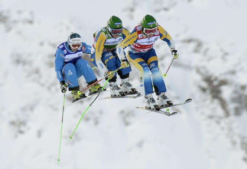 Make sure you watch Ski Cross Tomorrow