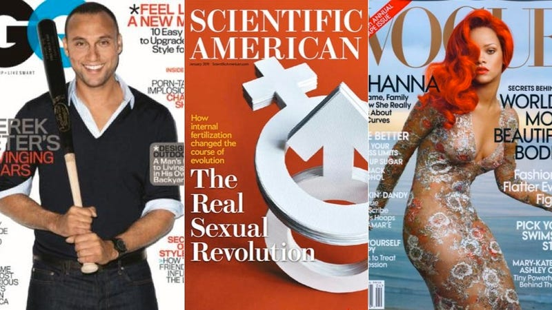 Ladymags And Men's Magazines Are Not Created Equal