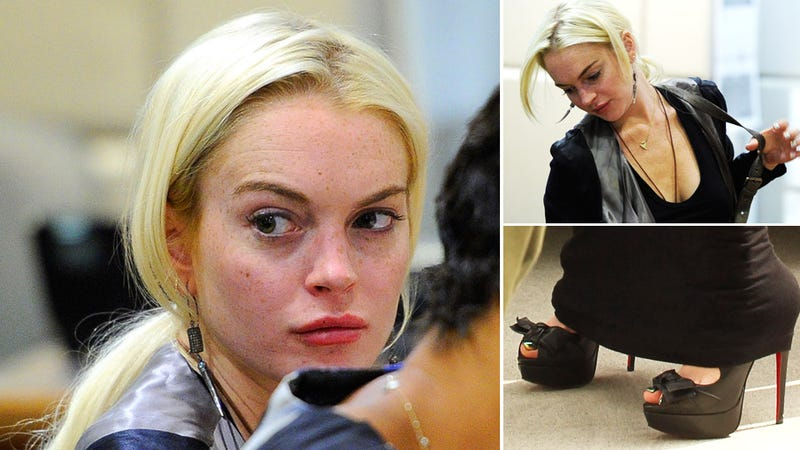 Lohan to Judge: I Can't Afford Therapy, But Check Out These $1200 Shoes