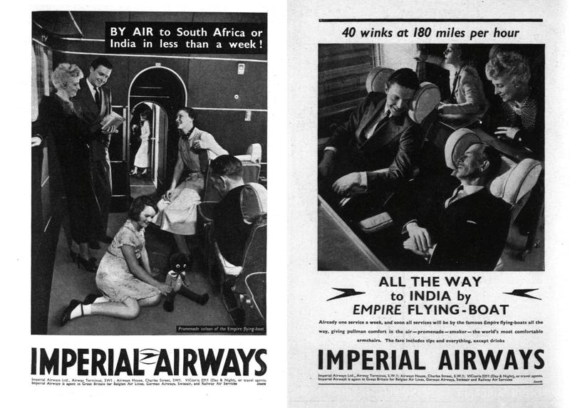 What International Air Travel Was Like in the 1930s