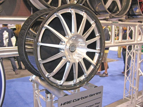HRE Creates First Production Carbon Fiber Wheel Set