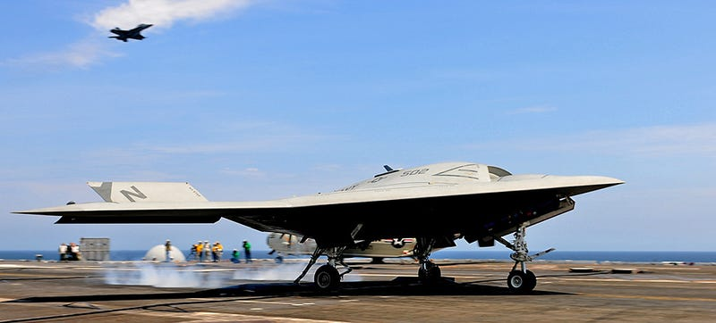 Navy Makes History With Integrated Unmanned-Manned Carrier Ops