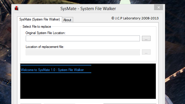 SysMate Replaces System Files Without Permission Errors