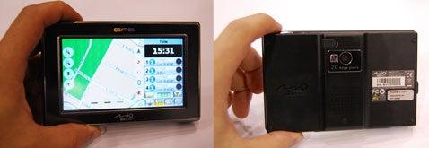 Mio DigiWalker C720T Navi Has 2MP Camera to Geocache Your Memories