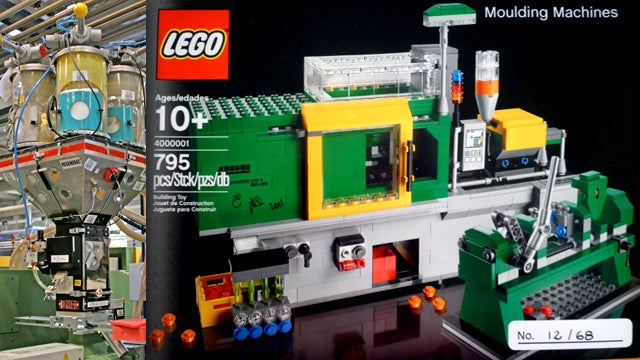 Lego Moulding Machine Set May Build Alternate Universe One Day