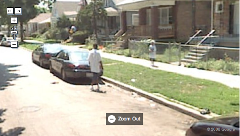 Google Maps Catches Chicago Kid About To Shoot Someone
