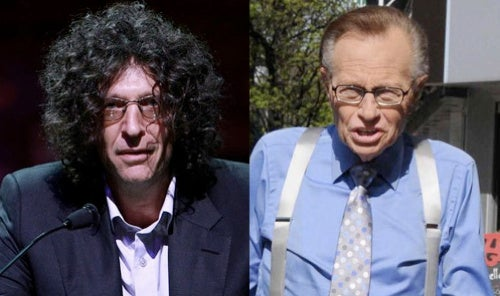"After Being Called ""Worthless"" by Larry King, Howard Stern Fires Back: ""He's a Frog"""