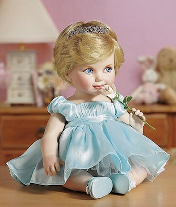 Pay Tribute To Princess Diana With A Disturbing Baby Doll