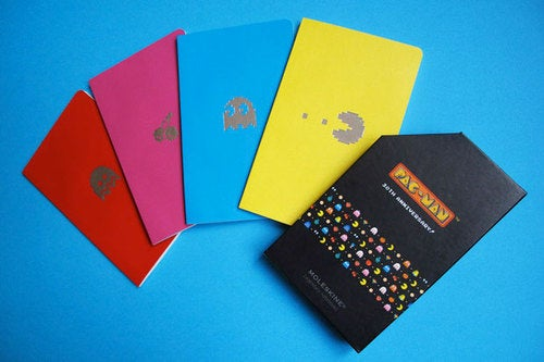 Pac-Man Celebrates 30th Birthday With Notepads For Snobs