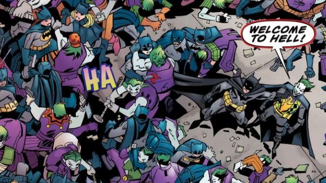 Before Playing Gotham City Impostors Read Batman: Impostors
