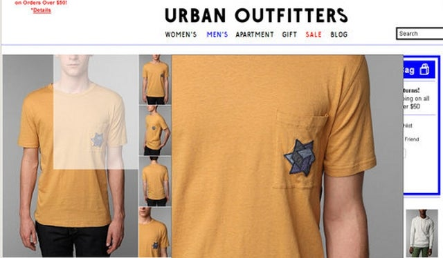 "Jewish Group Slams Urban Outfitters For Selling ""Holocaust Tee"""