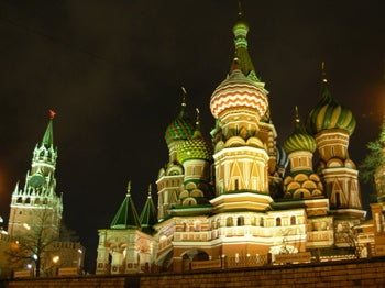 In Russia, Sights See YOU! Moscow by Car, By Night
